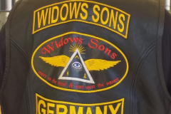Widows Sons full back patch